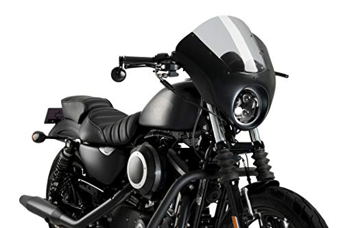Customacces TO0002N Torretas Altura para Manillar de 1 25mm Negro Fat Bob 08 Harley Davidson Dyna Low Rider 13-17
