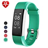 Fitness Tracker with Heart Rate Monitor,Willful Fitness Watch Activity Tracker IP67 Waterproof Slim Smart Band with Step Calorie Counter 14 Sports Mode Sleep Monitor,Pedometer for Kids Women Men Green