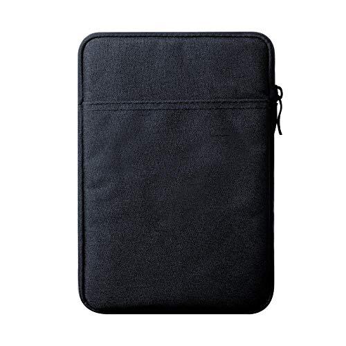 Funda Universal de 7-8 Pulgadas de 7-8 Pulgadas para iPad Mini 5 7.9 Funda de Tableta para iPad Case Mini 1 2 3 4 7.9 Tablet Sleve Cubierta Coque Coque-Azul Oscuro