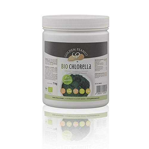 Bio Chlorella Pulver 1 Kg Zellwände aufgebrochen glutenfrei vegan Rohkostqualität