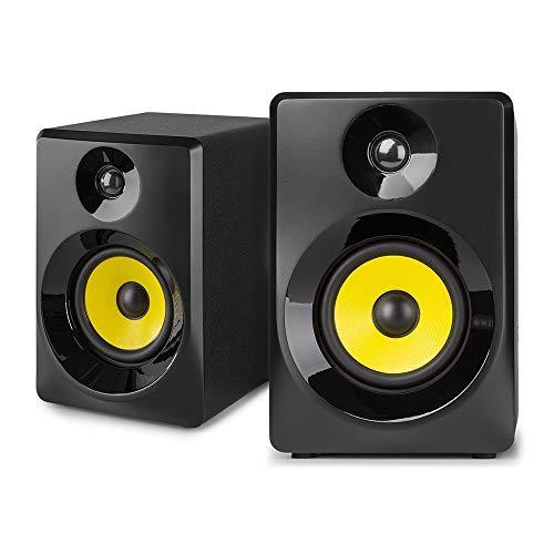 "Vonyx SMN40B Monitor Estudio Activo 4"" Pareja Negro"