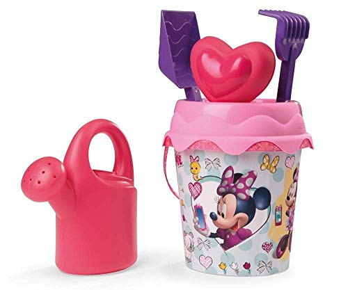 Minnie Mouse- Mickey & Friends Cubo de Playa Completo (Smoby 862073)