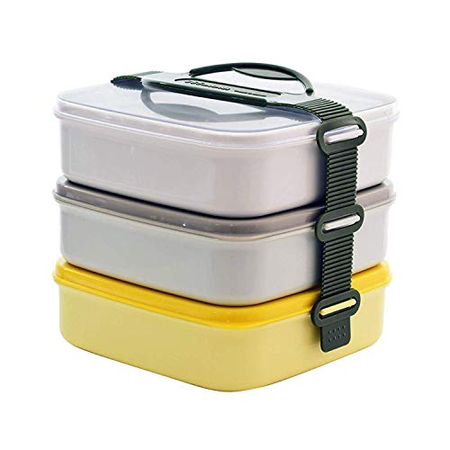 365methods 行楽弁当箱 3段 2way ピクニック ボックス