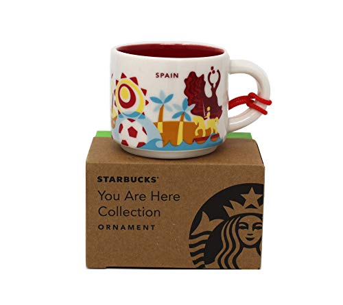 Starbucks You are Here Spain Collection Espresso-Tasse