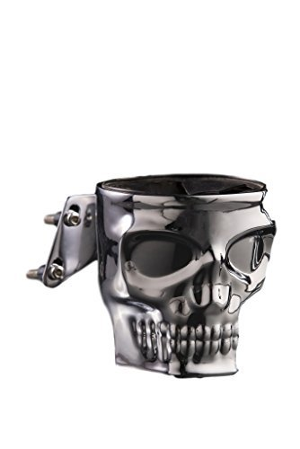 Kruzer Skull Motorcycle Cup Holder