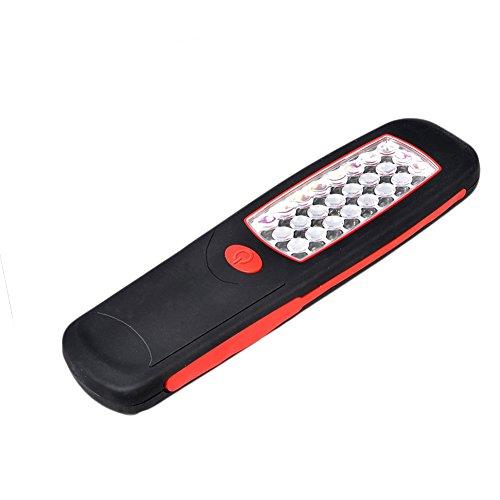 Yonger ou à accrocher d'inspection LED Super Bright Light Lampe torche magnétique 24 LED