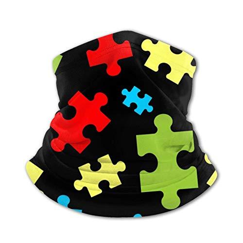 Puzzle Teens Bufanda de Seda de Hielo Pañuelo en la Cabeza Cuello Pañuelo cálido Pañuelo Multifuncional Pasamontañas
