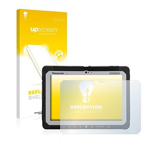 upscreen Entspiegelungs-Schutzfolie kompatibel mit Panasonic Toughbook CF-20 – Anti-Reflex Bildschirmschutz-Folie Matt