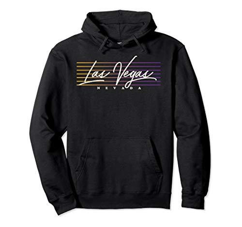 Las Vegas Shirt Nostalgic Retro Style Nevada Pullover Hoodie