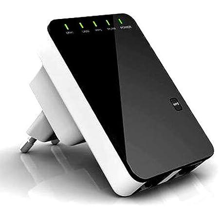 Repetidor WiFi Alta Potencia para amplificar señal inalámbrica en hogares, oficinas. (WR02)