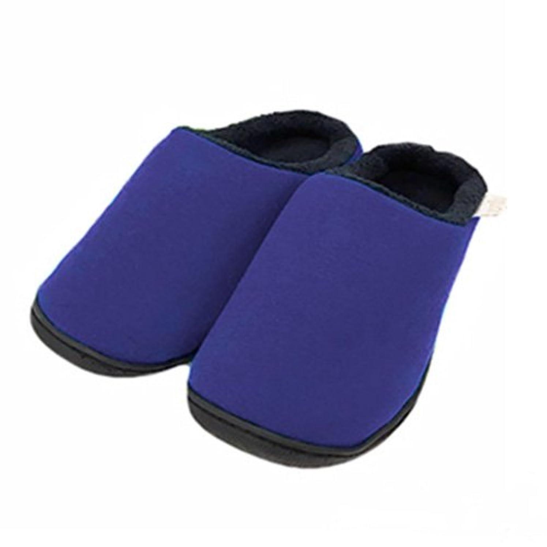 あたたかいガイド謝罪するYogibo Room Shoes (M, パープル)