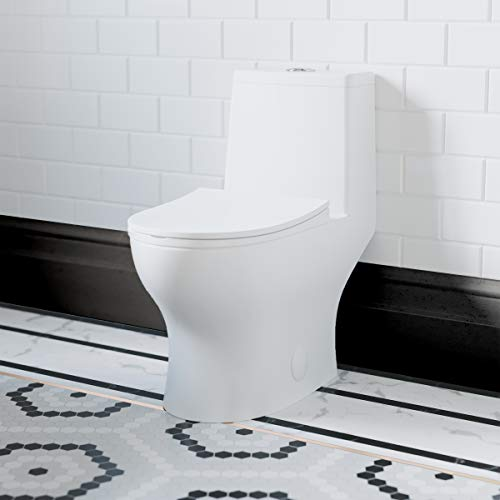 "Swiss Madison SM-1T127 Ivy One Piece Toilet, 10"" Rough-in"