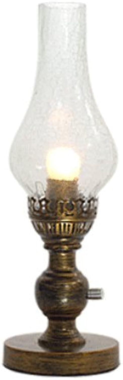 Europischen Stil retro pastorale Kerosin Tischlampe Dimmen Nostalgie Nachttischlampe