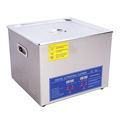 Ultrasonic Cleaner, 10L 240W Professional Digital Stainless Steel...