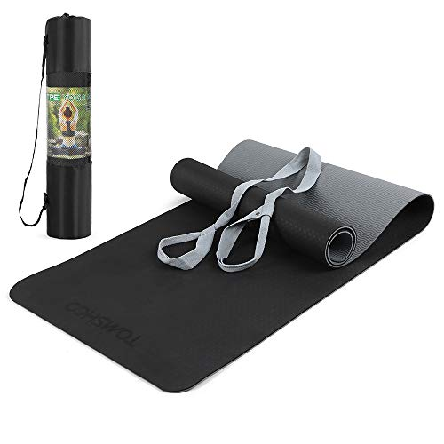 Doorslay Esterilla de Yoga 1/4 Pulgada TPE