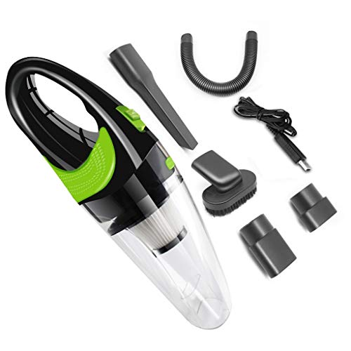 For Sale! LEMONCOFFEE SHOP Wireless Car Vacuum Cleaner High Power Air Pump 12v Car Home Dry and Wet ...