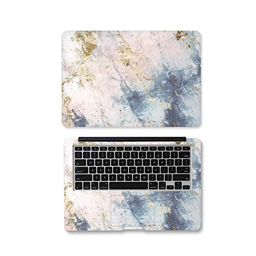 Peach-Girl Case for Lenovo/Dell/HP/ASUS/Xiaomi Air 13.3 / Macbook, Marble Sea Wave Sticker for Laptop 12 13 14 15.6 17 Inches -Ax-003-17 Inch