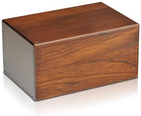 Indian Glance Wooden Urn Box Urn For Human Ashes Funeral Cremation Urn Large