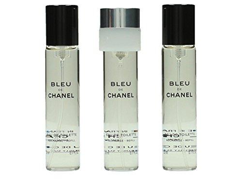 Bleu de Chanel di Chanel - Eau de toilette Edt - Spray 3x20 ml.