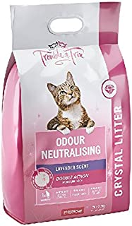 Trouble & Trix Odour-Neutralising Lavender-Infused Crystal Cat Litter 15 litres