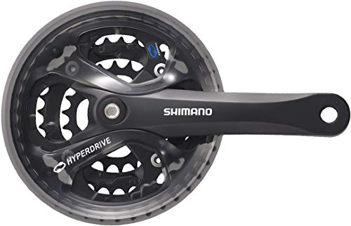 Shimano Acera FC-M361, Guarnitura 42/32/22, Nero