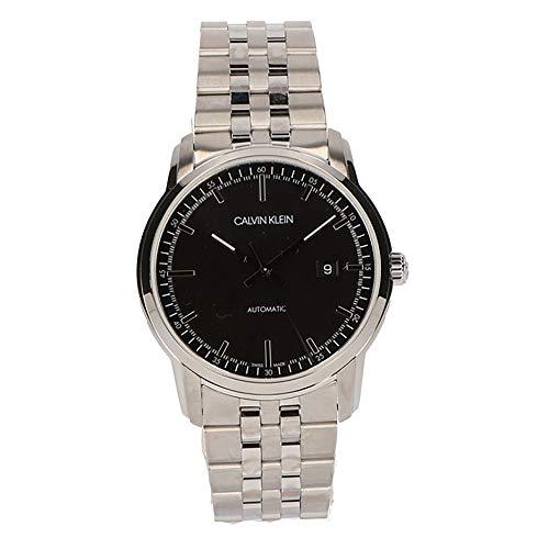Calvin Klein Herren Analog Automatik Uhr mit Edelstahl Armband K5S3414Y