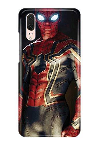 Case Me Up Coque téléphone pour Huawei P20 Pro Spiderman Peter Parker Marvel Comics Superhero 16 Dessins