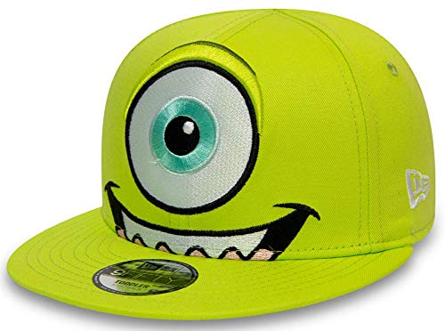 New Era Monster Inc Head Mike Wazowski AG Kids 9fifty 950 Infant Snapback Cap Toddler Baby