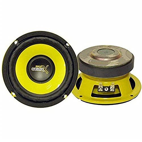 Pyle 2 PLG54 PLG 54 Altavoces 13,00 cm 130 mm 5  de diametro 100 vatios rms y 200 vatios máx con impedancia 4 ohmios Puertas Coche, un par