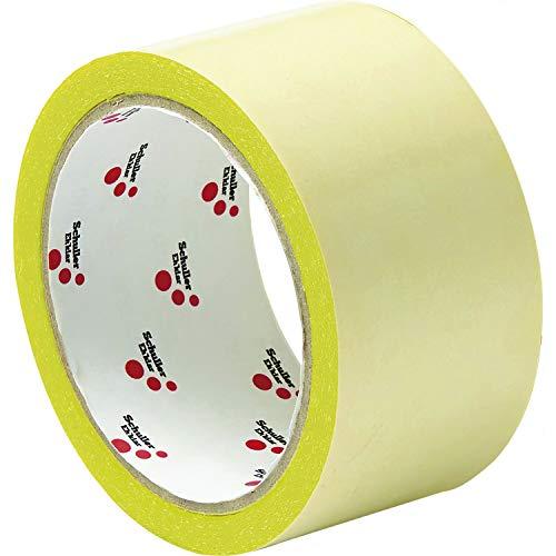 SCHULLER doppelseitiges Klebenband mit Folie   Twin Tape PRO   50 mm x 25 m   1 Rolle