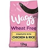 Wagg Sensitive Wheat Free Chicken and Rice Complete Dry Dog Food, 12 kg