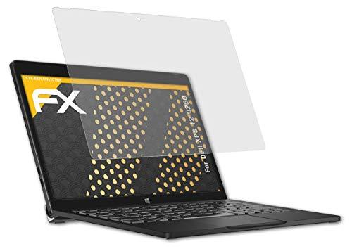 atFolix Panzerfolie kompatibel mit Dell XPS 12 9250 Schutzfolie, entspiegelnde & stoßdämpfende FX Folie (2X)