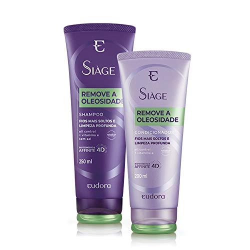 Kit Remove a Oleosidade Shampoo + Condicionador Eudora