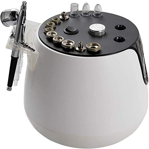HSART Machine with Spray Gun, 3 in 1Diamond Microdermabrasion Machine, Facial Skin Equipment Beauty Care Tools for Salon