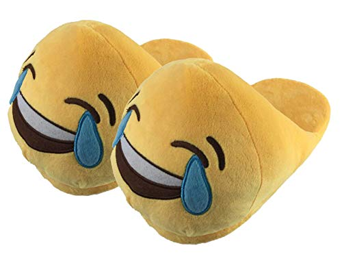 Unisexo Emoji Emoticon Zapatillas Cómodo Suela Térmica
