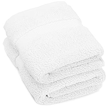 Pinzon Heavyweight Luxury 820-Gram Hand Towel - White