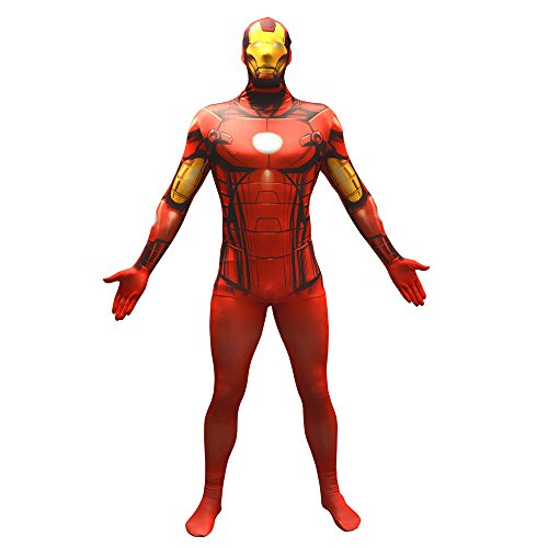 MORPHSUITS MARVEL IRON MAN Costume VALUE taglia XL