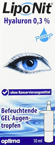 Liponit Augentropfen Gel pump 0,3% Hyaluron, 1er Pack(1 x 10 ml)