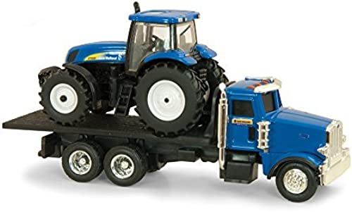 Ertl Collectibles New Holland Dealer Truck with T7030 Tractor by Ertl Collectibles