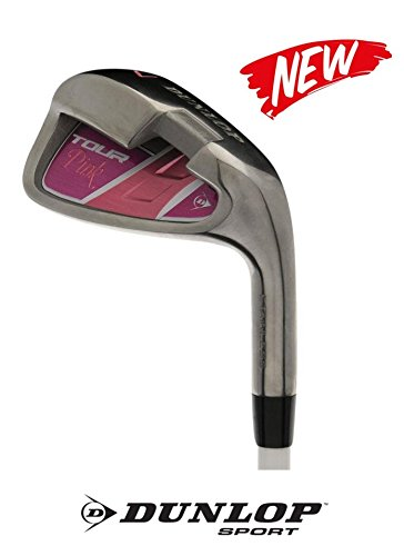 Dunlop Lady - Golf Eisen/Einzeleisen für Damen (wählbar: 5-7 - 9 - PW - SW) mit GRAPHITESCHAFT Flex L (Lady) (Sandwedge)
