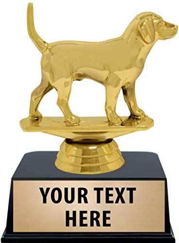 Crown Awards Dog Trophies with Custom Engraving