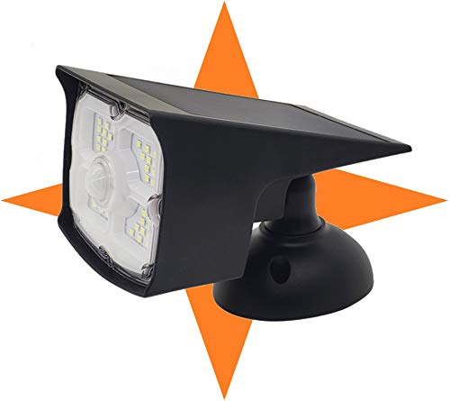 Guardian Tech Security Torch LED Spotlight (Updated 2020 Model) | Solar Motion Detector Lights for Outside | High Powered Spot Light | Mountable Bright Wireless Spotlight Outdoor