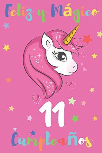 Feliz y Mágico 11 Cumpleaños: Diario para Apuntar y Dibujar | Para Niños y Niñas de 11 Años | Desata su Creatividad con Espacio para Apuntar y Dibujar | 110 Páginas