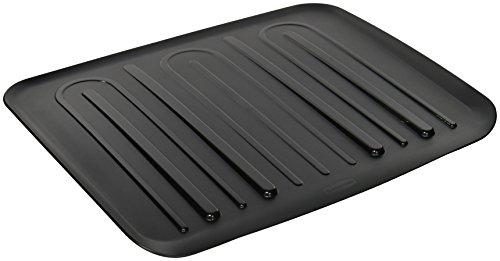 Rubbermaid Drain Board, Large, Black L3-1182-M6-BLA