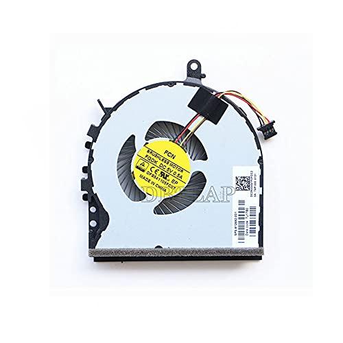 DBTLAP Fan Compatible for HP Envy 15-AE M6-P 15-AE018TX AE021TX AE019TX 15-AE041NR 15-AE042NR 15-AE076CA 15T-AE000 15T-AE100 15-AE178CA 15-AE124TX Series CPU Cooling Fan 812682-001 DFS541105FC0T
