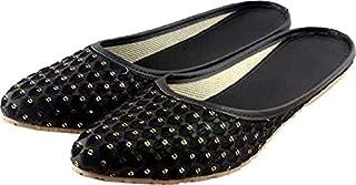 Galaxy Foot Craft Women KHILONA MAKKHI Belly-Black (SN23)