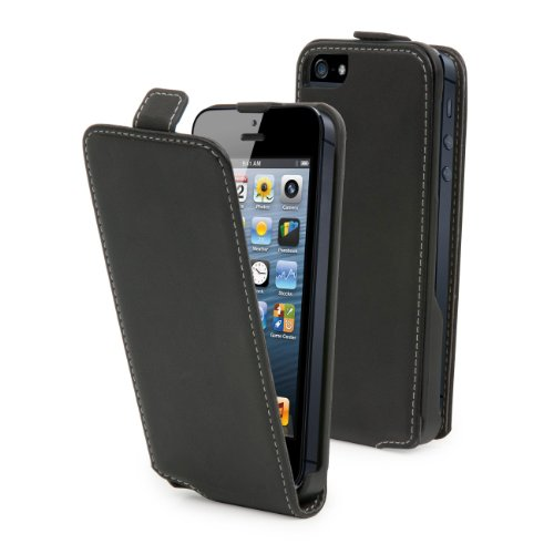 MCA MUSLI0070 - Funda Slim negra para iPhone 5