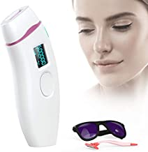 Hair Removal for Women, IPL Permanent Hair Remover System Device for Female Male Face Leg Body Home Use Device (Cover Not Included)