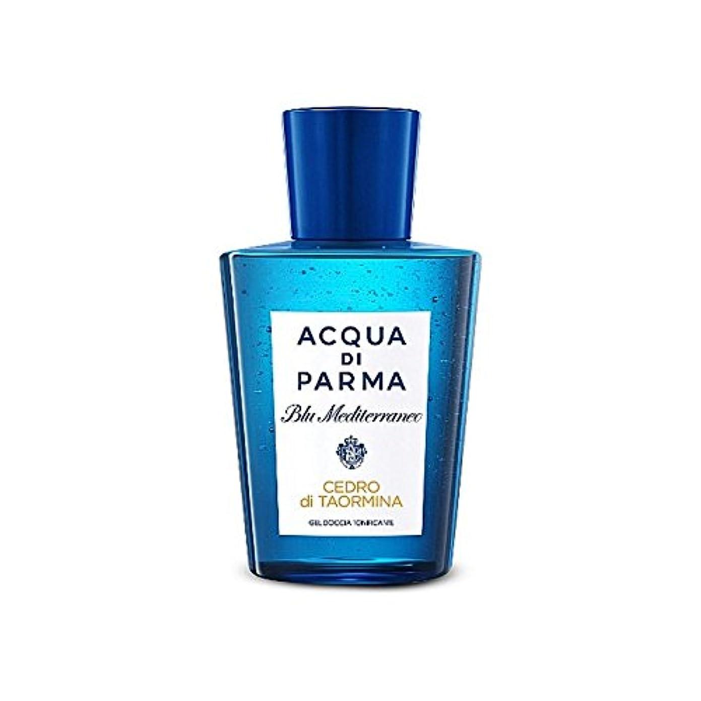 ガソリン動揺させるスパイラルアクアディパルマディミーナシャワージェル200 x4 - Acqua Di Parma Cedro Di Taormina Shower Gel 200ml (Pack of 4) [並行輸入品]