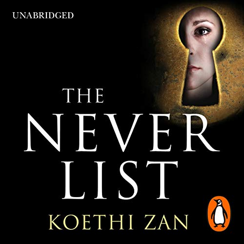 The Never List audiobook cover art